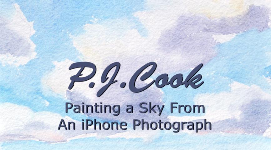 Art Video - Paint a Sky in Watercolor