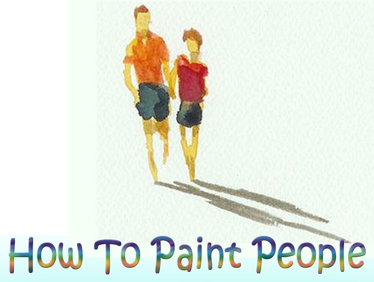 learn how to paint people for your paintings