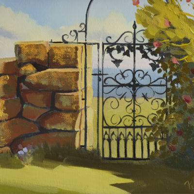 Harkness Park, iron gate