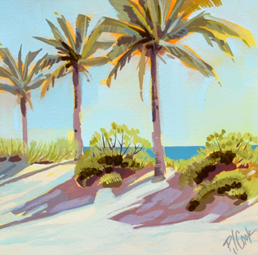 Ft Lauderdale Beach sunrise series painting number 3.