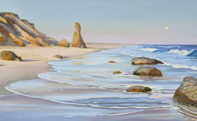 Lucy Vincent Beach, Martha's Vineyard oil on canvas painting.